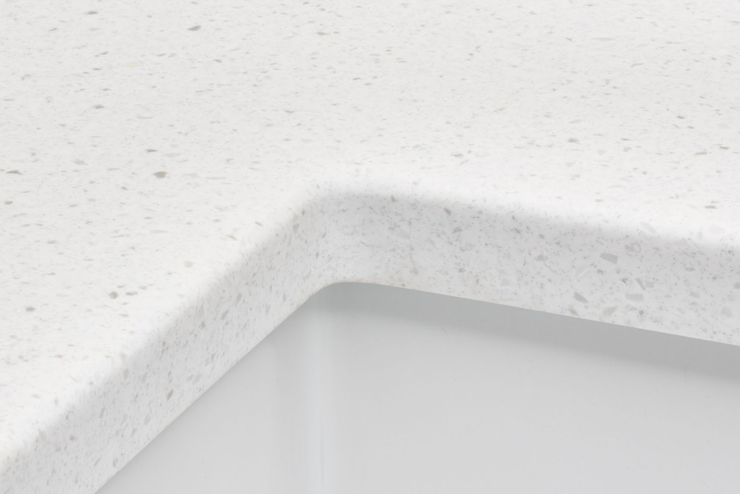 Polyester solid-surface countertop