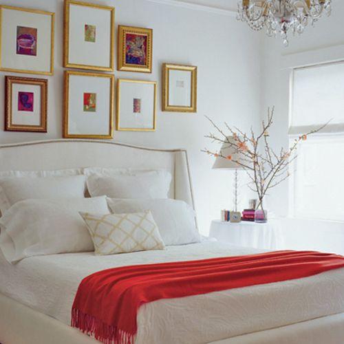 Oro en el dormitorio