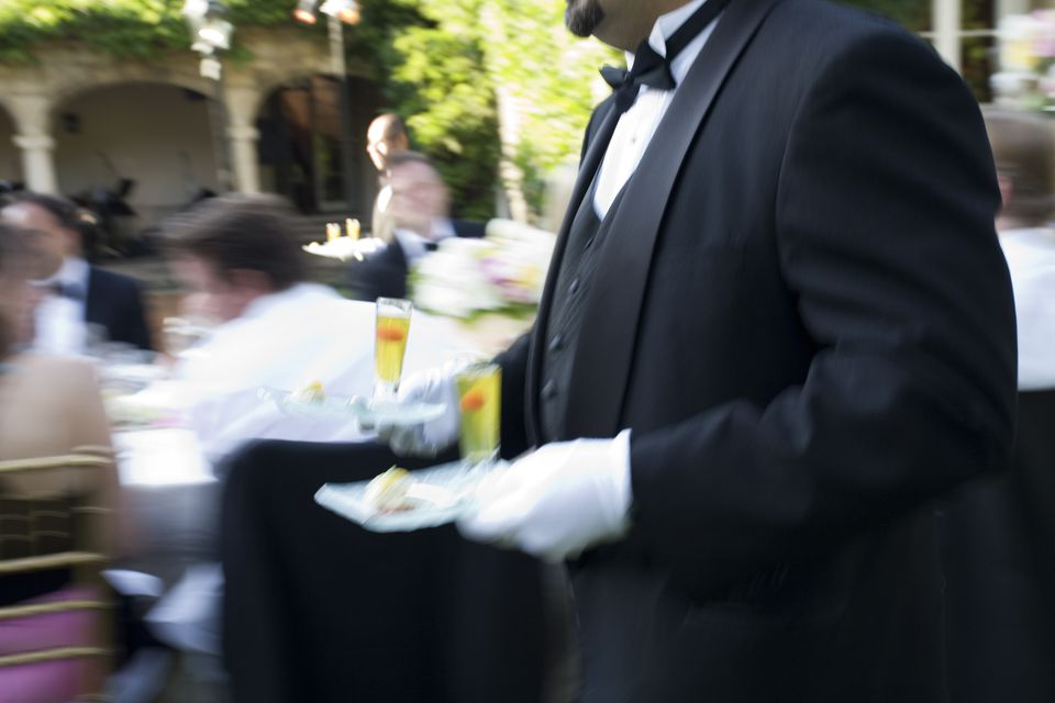 wedding waiter