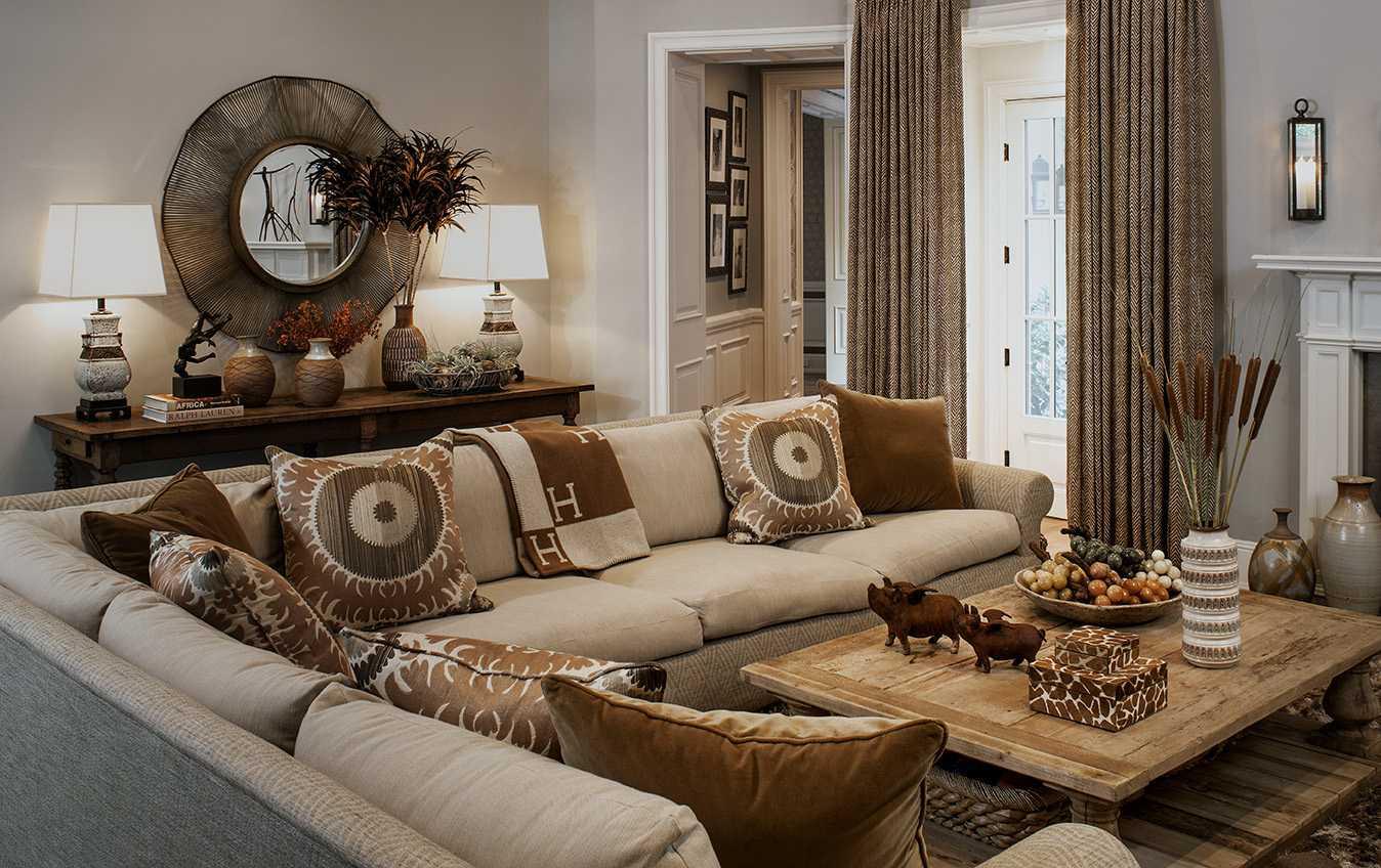 El hogar deliciosamente decadente de Tyson y Kimberly Chandler