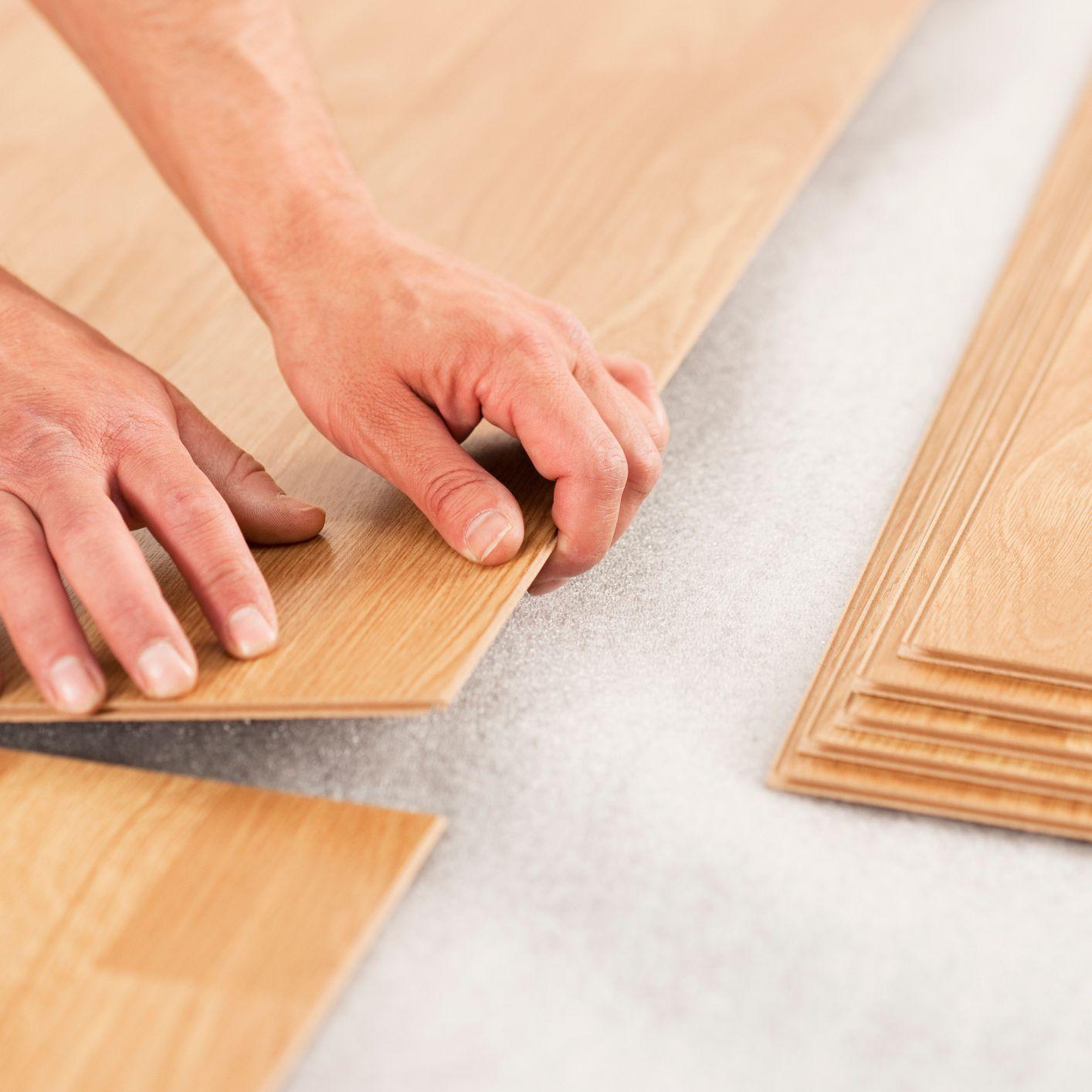 Tar Paper Under Laminate Flooring >> Laminate Underlayment Installation Basics