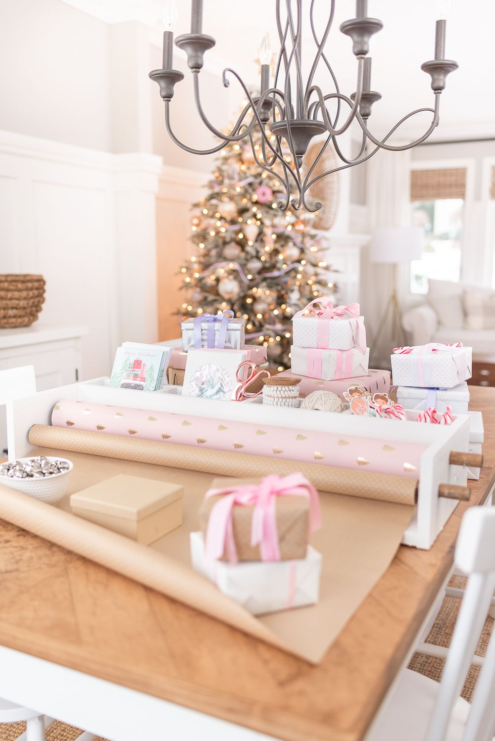 custom wrapping paper holder