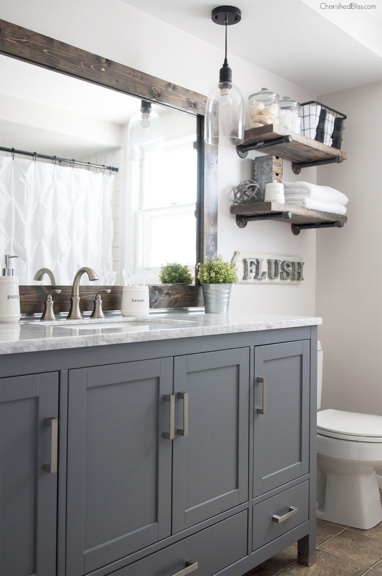 17 classic gray and white bathrooms - Gray And White Bathroom