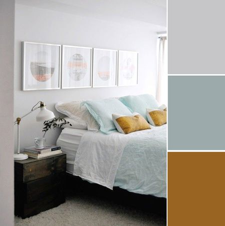 Surprising 7 Soothing Bedroom Color Palettes Home Interior And Landscaping Eliaenasavecom