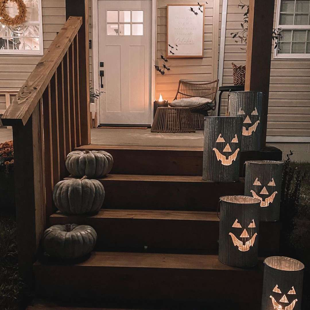 pumpkin porch
