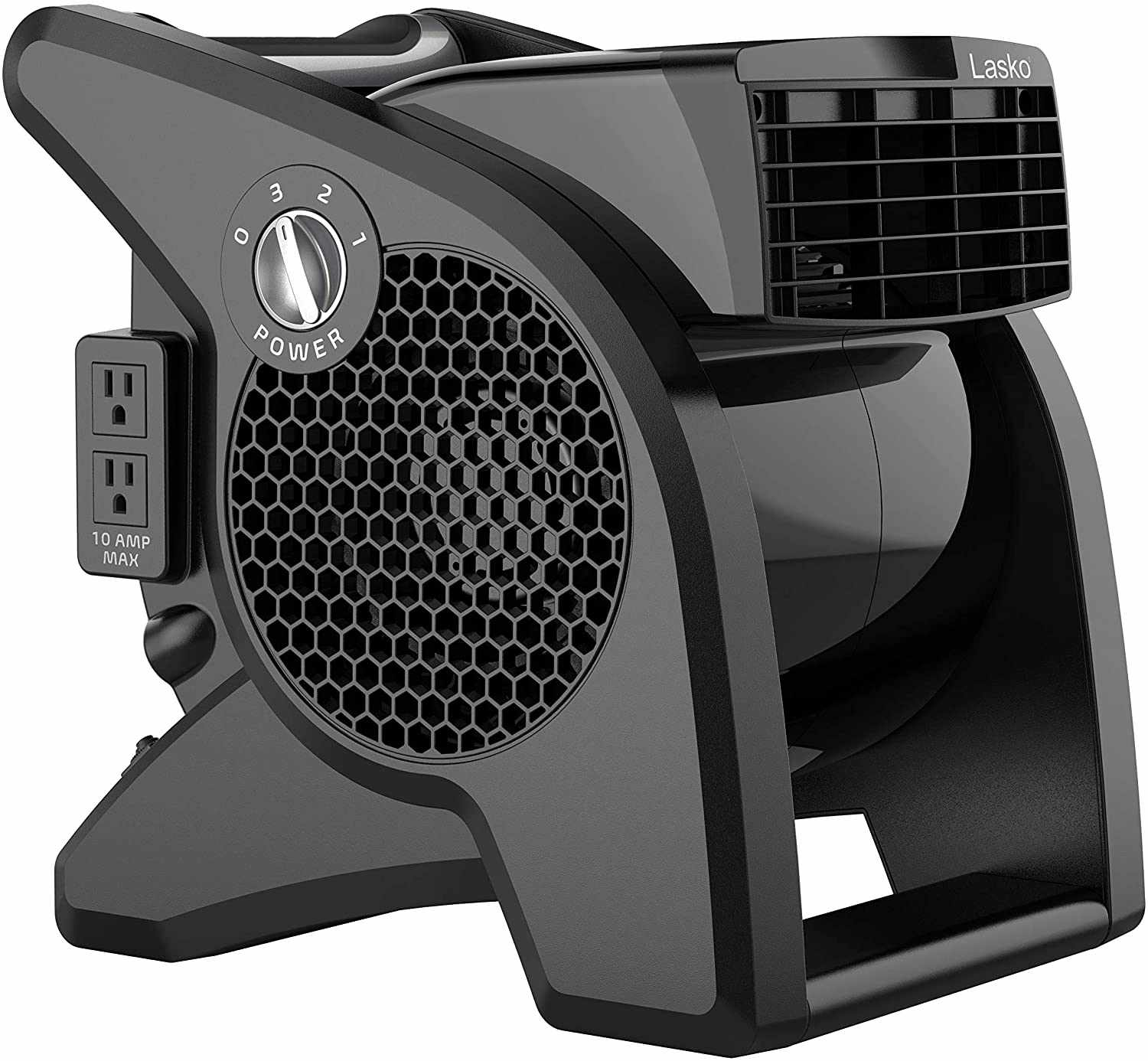 Lasko High Velocity Pro-Performance Pivoting Utility Fan for Cooling