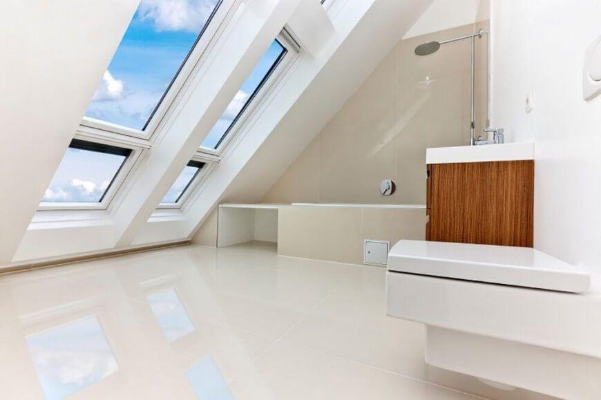 baño principal minimalista