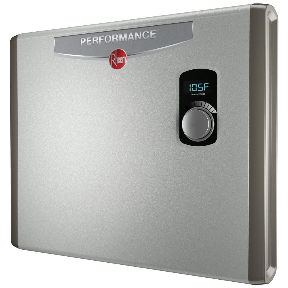 Rheem Performance 36 kw Self-Modulating 7.03 GPM Tankless Electric Water Heater