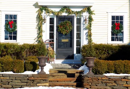 10 natural outdoor christmas decoration ideas - Natural Outdoor Christmas Decorations
