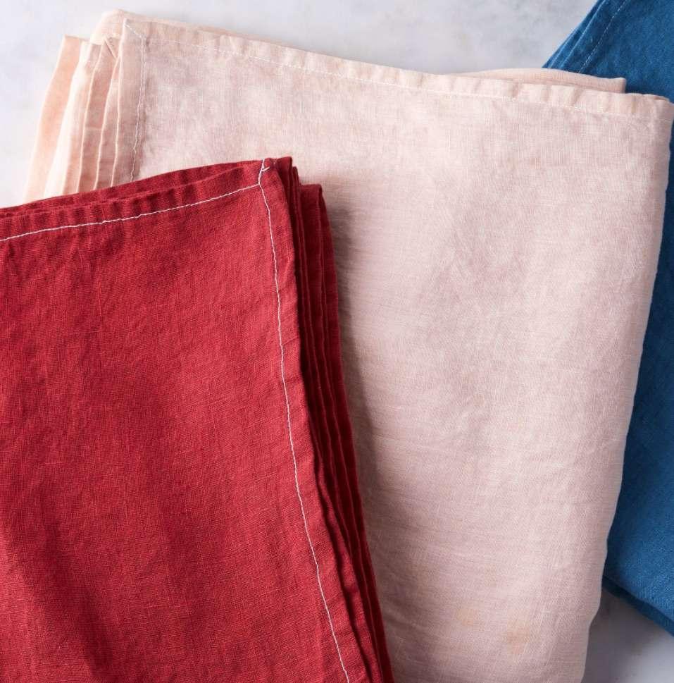 Celina Mancurti Handmade Linen Tablecloth