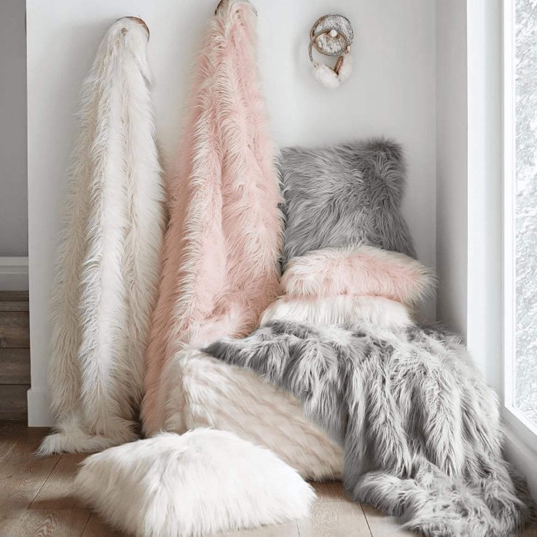 Furific Faux-Fur Throws