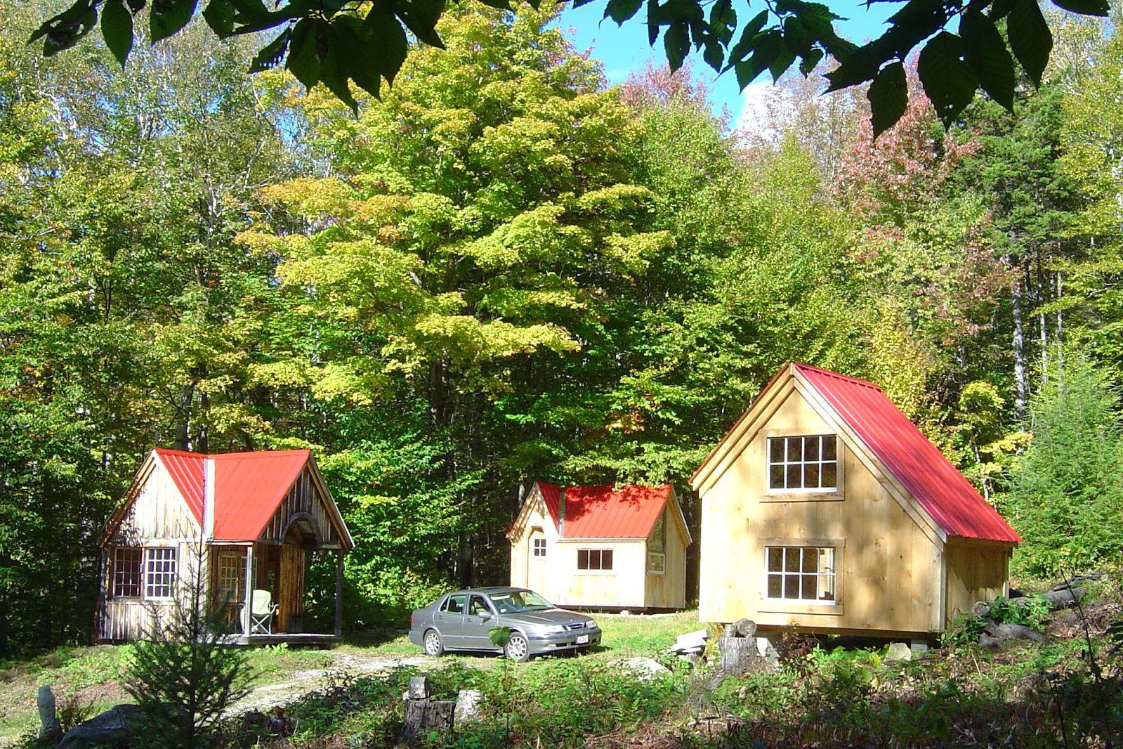 Pequeño complejo de cabañas en Vermont