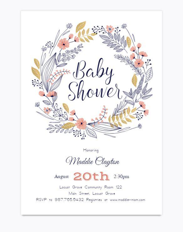 rsvp for baby shower