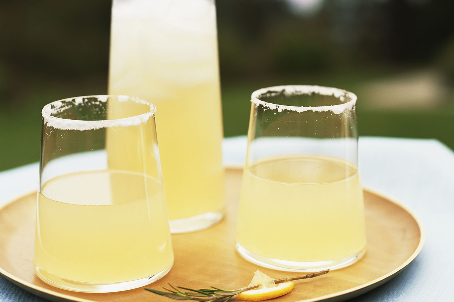 Easy Rosemary Lemonade with Tequila Cocktail Recipe