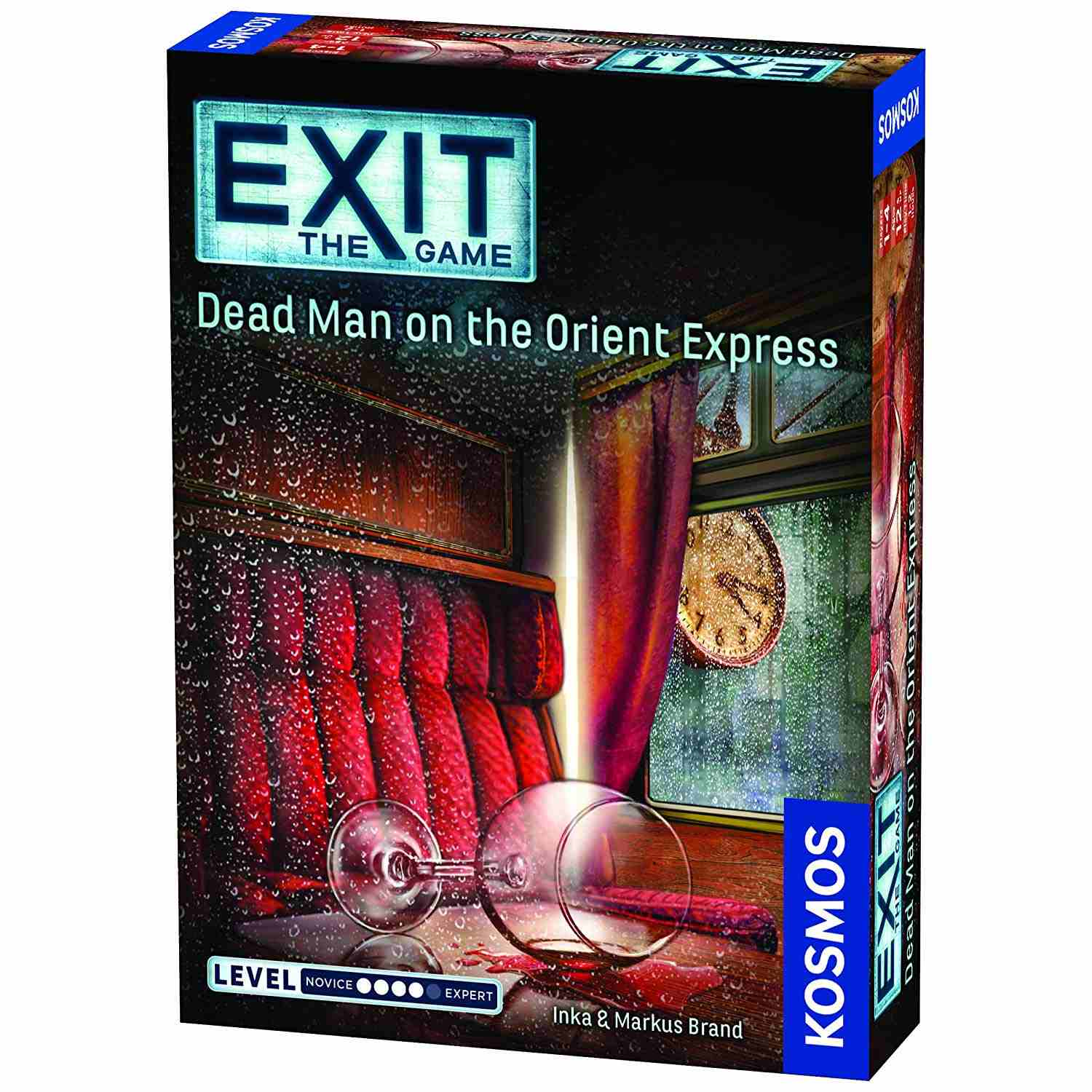 Exit the Game: Dead Man on the Orient Express box