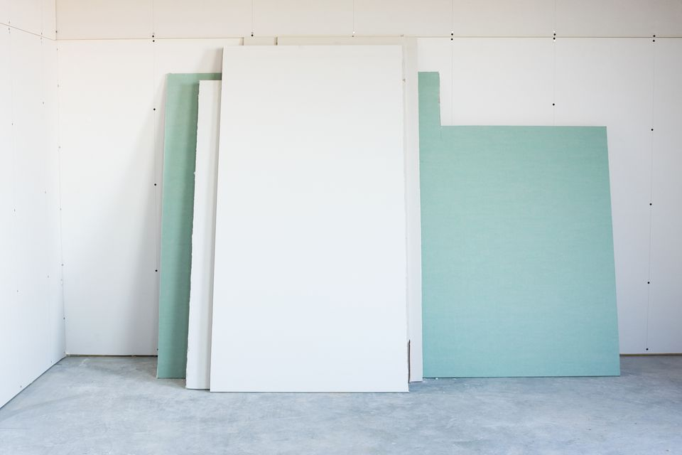 Greenboard Drywall (with Regular Drywall Too)