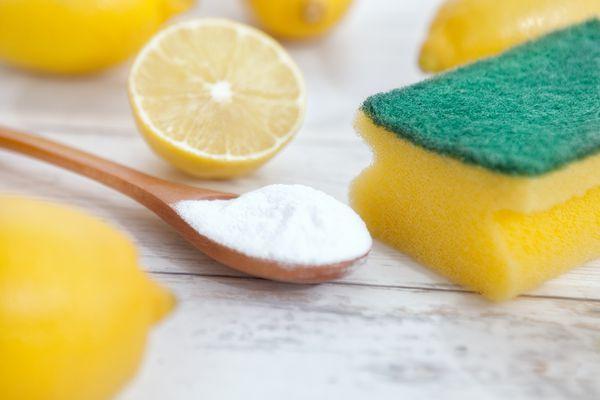 Lemons and baking soda