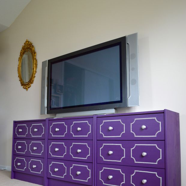 Studded Trim Dresser