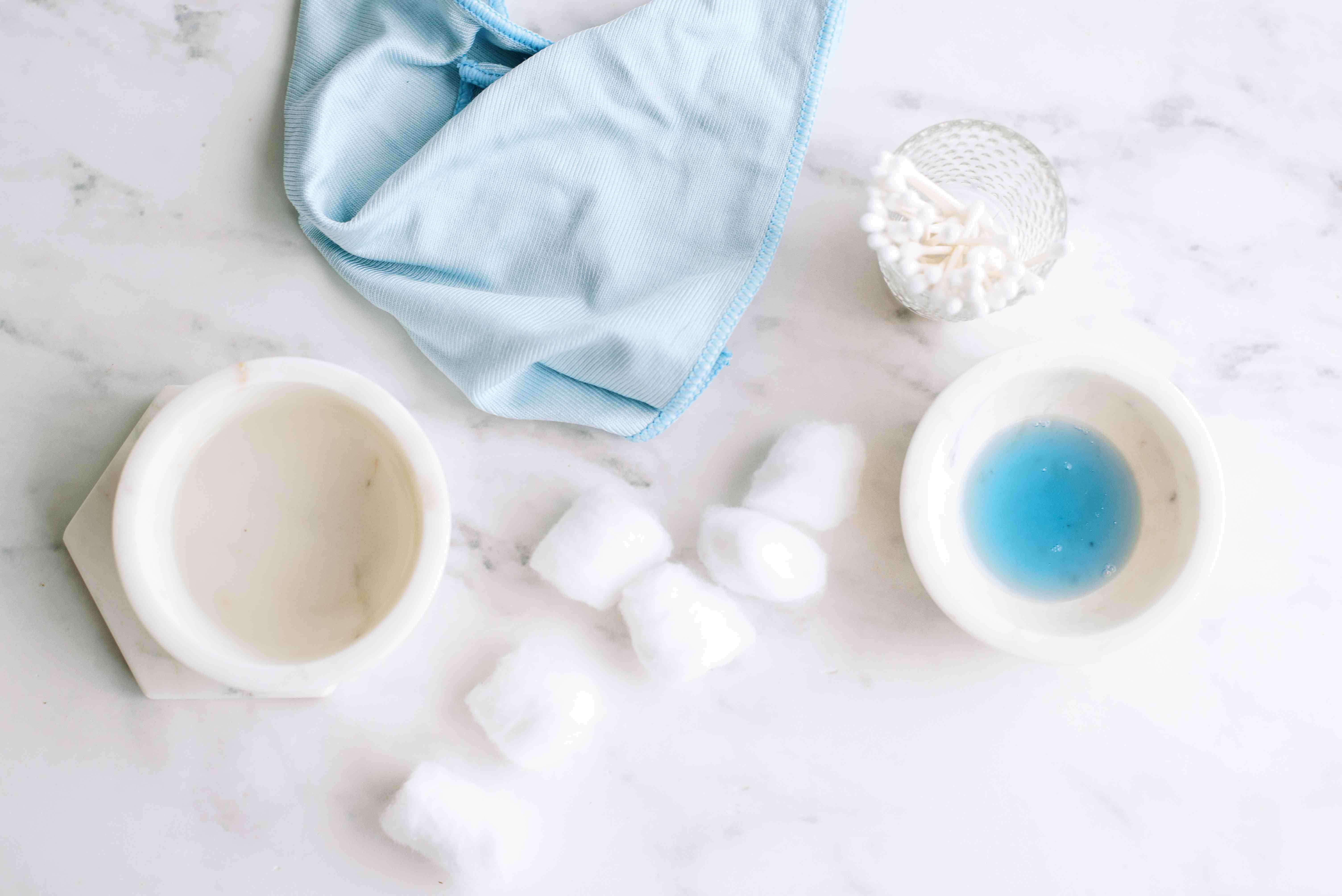 supplies for cleaning gold-plated jewelry